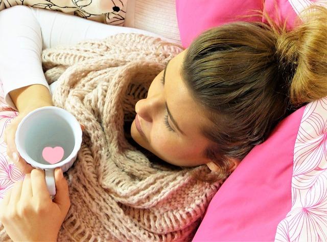 nemocná dívka