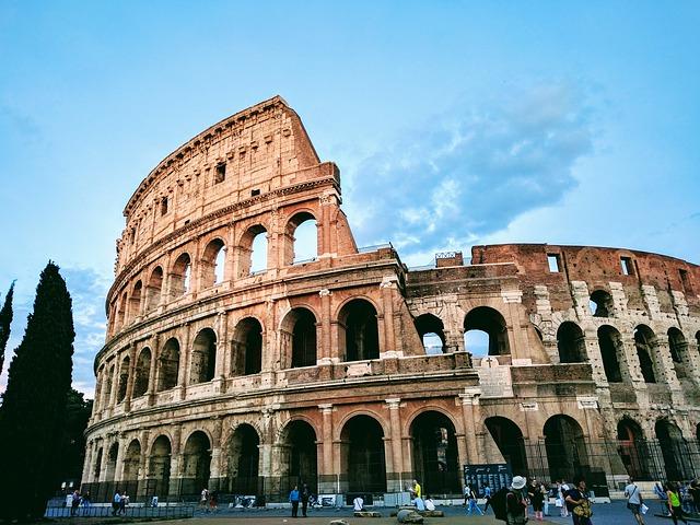 italské Koloseum