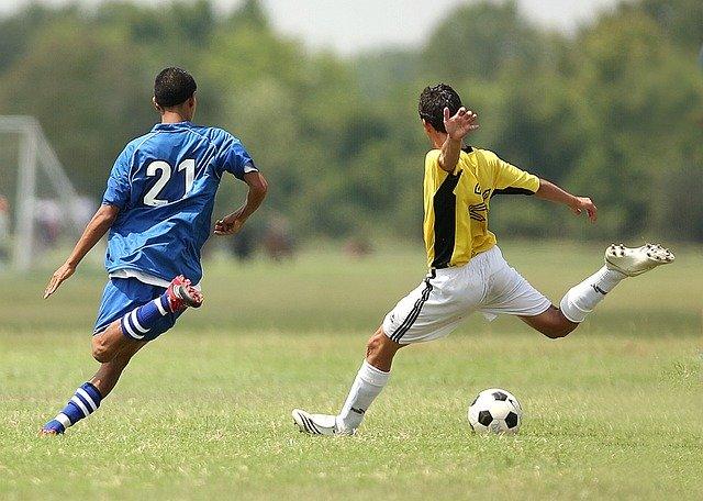 dva fotbalisté